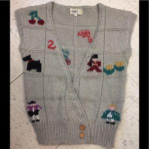 🔥 5/$25- Ricki Knitted Vest Sz M